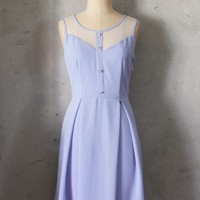 Le Petit Jardin Dress in Lavender |