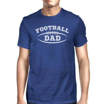 Football Dad Men's Funny Graphic T-Shirt For Dad Witty Design Tee