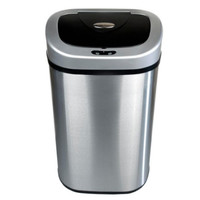 21 Gallon Stainless Steel Auto-Open Infrared Trash Can Touch-Less Garbage Bin