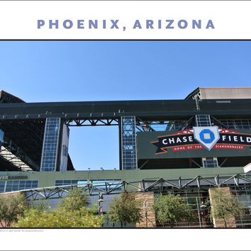 New...Go, Diamondbacks! Phoenix Arizona Photo Wall Art #1002