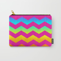 Rainbow Zig - Zag Carry-All Pouch by All Is One
