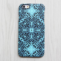 Turquoise Floral iPhone 6s case iPhone 6 plus Ethnic iPhone 5S 5 iPhone 5C iPhone 4S/4 Case Retro Samsung Galaxy S6 edge S6 S5 S4 Case 079 - Edit Listing - Etsy
