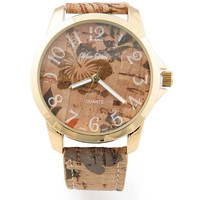Aloha Cork Watch