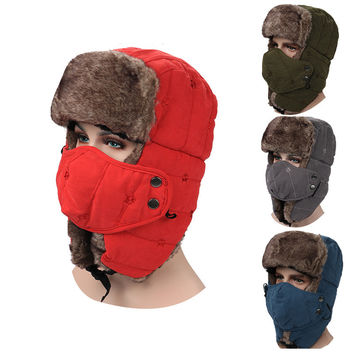 Lei Feng Hats Unisex Winter-season Cotton Hat
