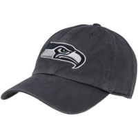 Seattle Seahawks '47 Brand Cleanup Adjustable Hat – College Navy