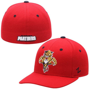 Florida Panthers Zephyr Crosscheck Fitted Hat – Red