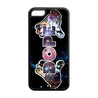 Special Designer Simply Dope Couture Silicon iPhone 5C Case, Snap on Protective Dope iPhone 5C Case