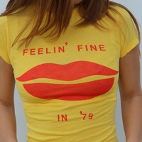 "WILDFOX ""Feelin' Fine in 79"" Tee Shirt"