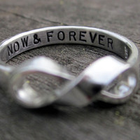 His or Hers Infinity Ring exclusively by donnaodesigns