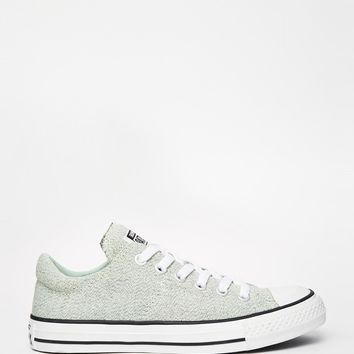 Converse Knit Mint Chuck Taylor All Star Low Trainers