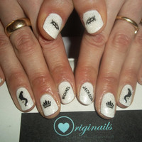 Michael Jackson Nail stickers.