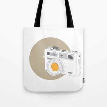 Yashica Electro 35 GSN Camera Tote Bag by Yashica Lovers