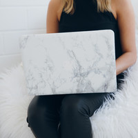 macbook marble laptop case - 12 inch