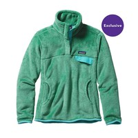Patagonia Women's Re-Tool Snap-T® Fleece Pullover | Distilled Green - Distilled Green X-Dye