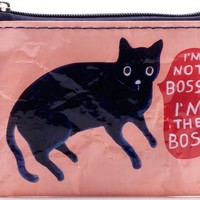 I'm Not Bossy, I'm The Boss Coin Purse (Also Perfect for Small Makeup Items)