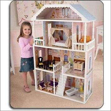 Dollhouse Barbie Size Wooden Dream Play