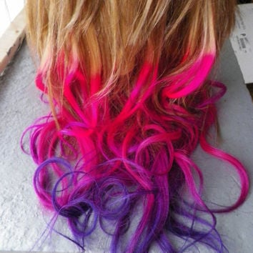 25 Piece Set Of Ombre Tip Dip Dye I Tip From Sassyswank On