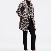 Spotted Statement Coat | Ann Taylor