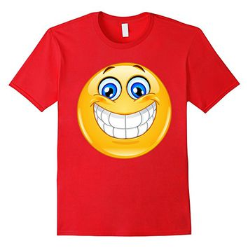 Emoji Shirt Big Smile Emoji T-shirt NEW Emoticon Tee