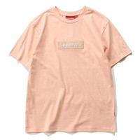 Cheap Women's and men's supreme t shirt for sale 85902898_0155
