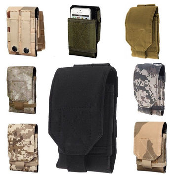 Oukitel K10000 Case Fashion Outdoor Army Camo Camouflage Phone Bag Hook Loop Belt Pouch Holster Cover For Leagoo Z5 Ulefone U007