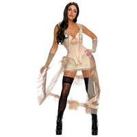 Jonah Hex Secret Wishes Lilah (White) Adult Costume - Walmart.com
