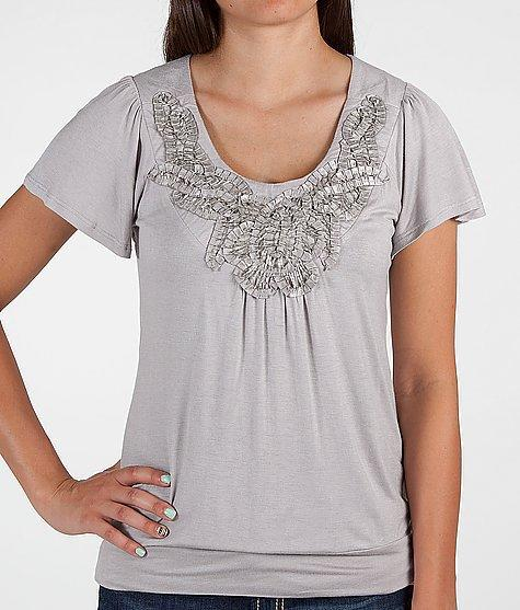 Daytrip Banded Hem Top - Women's Shirts/Tops   Buckle