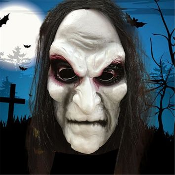 Halloween Mask Zombie Halloween Masks Adult Ghost Festival Cosplay Costume Party Supplies Full Face Latex Halloween Horror Masks