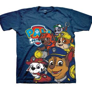 Nickelodeon Boys' Toddler Paw Patrol Group T-Shirt