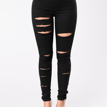Crazy Days Jeans - Black