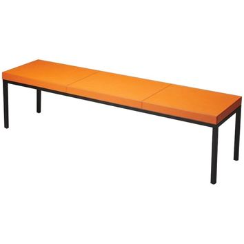 Darden Leather Bench