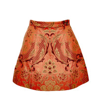 LORAN STRUCTURED SKIRT WITH POCKETS | Alice + Olivia