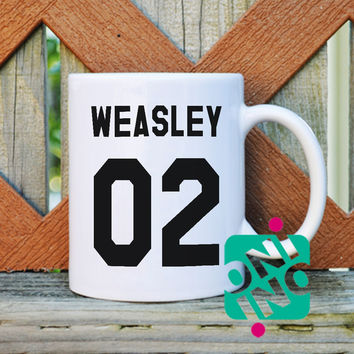 Ron Weasley Coffee Mug, Ceramic Mug, Unique Coffee Mug Gift Coffee