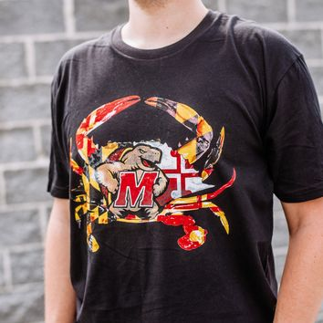 Maryland Terps Crab (Black) / Shirt