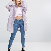 Monki Rain Coat at asos.com