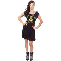 Sex Pistols Women's  Bulldog Work Dress Black Rockabilia