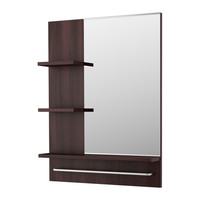 LILLÅNGEN Mirror - black-brown  - IKEA
