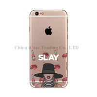 Popular Singer Rihanna Drake Work TPU Silicone Cell Phone Case Cover For iPhone 5 5S SE 6 7 6S Plus  6Plus 7Plus Fundas Capinhas