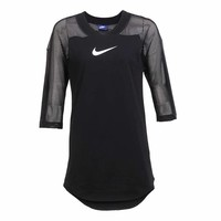 Nike women's long sleeved sweaters breathable shirts