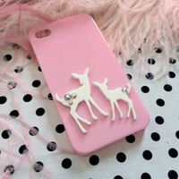 Pink Fawns iPhone 4 Case