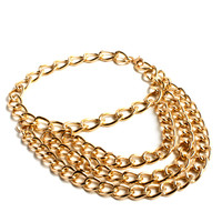 """Heel Steal"" Gold Ankle Chain Bracelet"