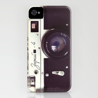Zorki vintage camera iPhone Case by Bomobob | Society6