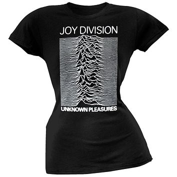 Joy Division - Unknown Pleasures Juniors T-Shirt