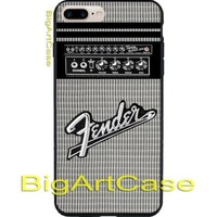 New Fender Guitar Amplifier Logo CASE COVER iPhone 6s/6s+7/7+8/8+,X and Samsung