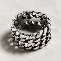 Icon Brand Double Curb Ring | Urban Outfitters