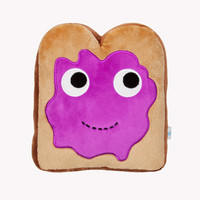 YUMMY Breakfast Jam Toast Plush Toy 10-Inch by Heidi Kenney