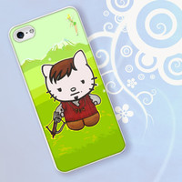 Cute Daryl Dixon Hello Kitty The Walking Dead for iPhone 4/4S, iPhone 5/5S, iPhone 5C, iPhone 6 Case - Samsung S3, Samsung S4, Samsung S5 Case