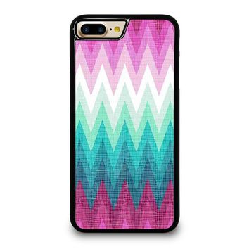 OMBRE PASTEL CHEVRON Pattern iPhone 4/4S 5/5S/SE 5C 6/6S 7 8 Plus X Case