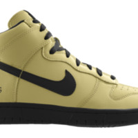 Nike Dunk High NFL New Orleans Saints iD Custom Kids' Shoes - Gold