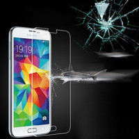 Customized Tempered Reinforced Glass Screen Protector For iPhone 4 4S 5 5S / For Samsung Galaxy S3 S4 S5 Note 3 Film +Retail box
